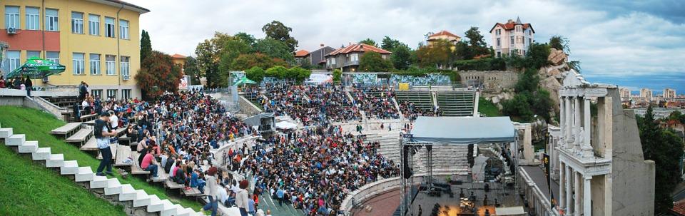 Plovdiv - anfiteatro