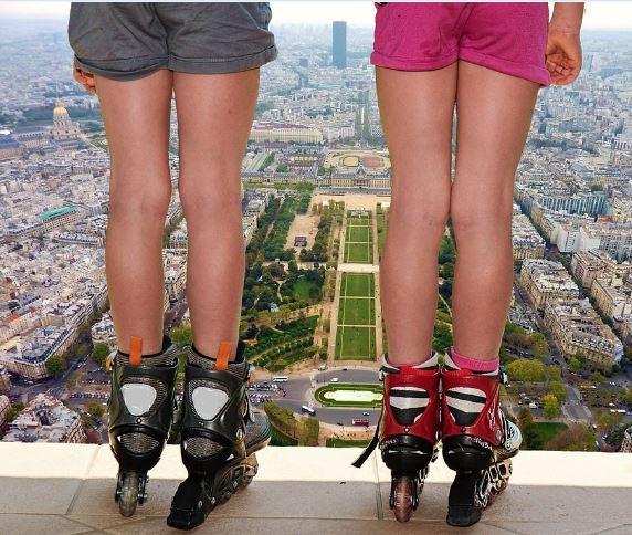 viajar con patines