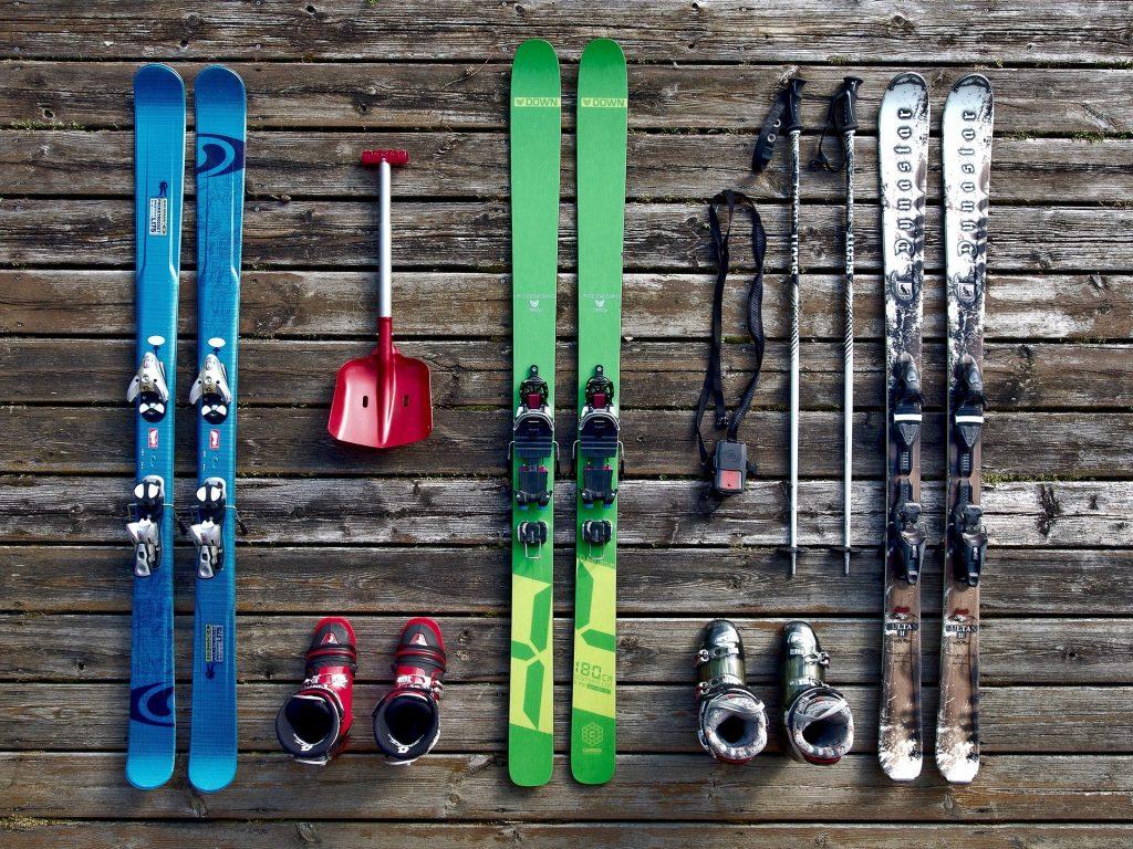 esquí con niños