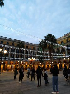 luces de navidad en barcelona